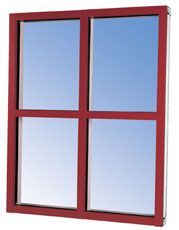 VersaTherm™ Storefront Framing in a variety of colors