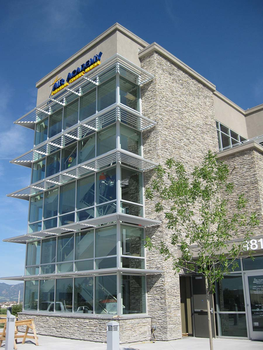 Project - AAFCU – Air Academy Federal Credit Union - Colorado Springs, CO - Curtainwall, Daylighting