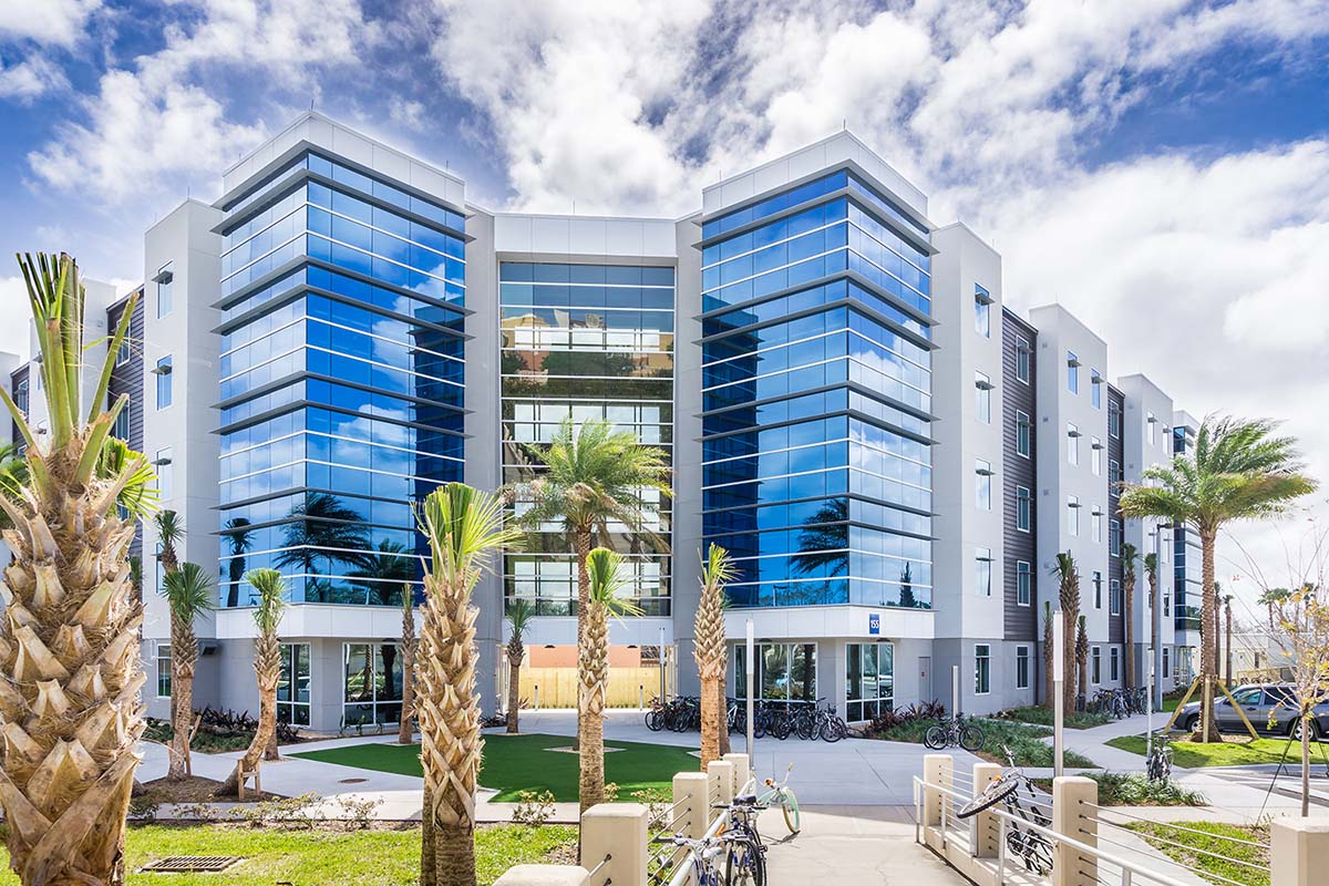 Project - Embry Riddle - Daytona Beach, FL - Curtainwall & Entrances - 2016