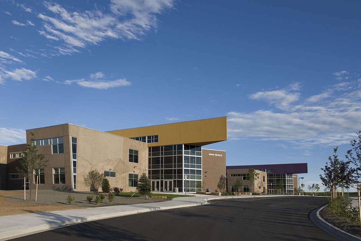 Project - GVR High School - Denver, CO - Storefront, Entrance, Curtainwall - 2010
