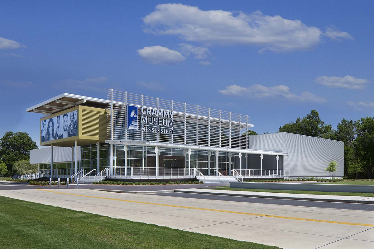 Project - Grammy Museum - Cleveland, MS - Curtainwall, Storefront, Entrance - 2016