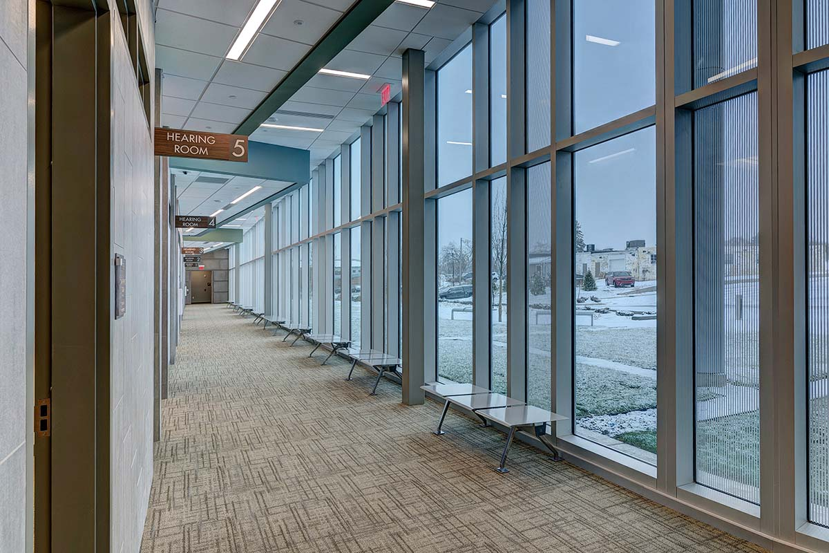 Project - Gull Rd Justice Complex - Kalamazoo, MI - Curtainwall, Storefront - 2015