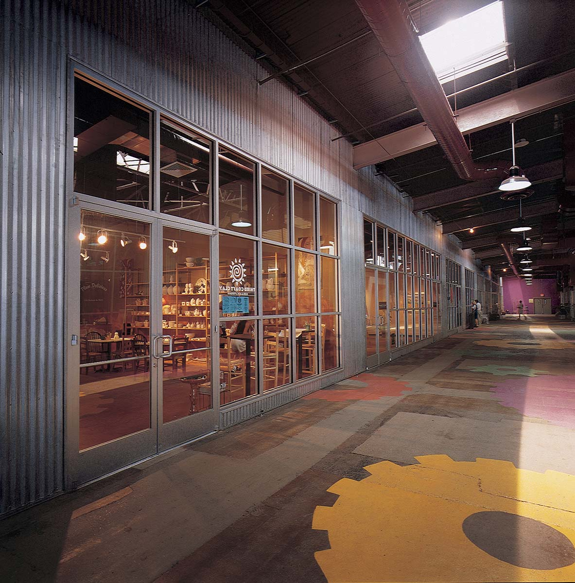 Project - The Factory - Nashville, TN - Storefront - 2006