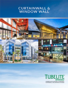 Tubelite Curtainwall and Window Wall Brochure - Thumbnail