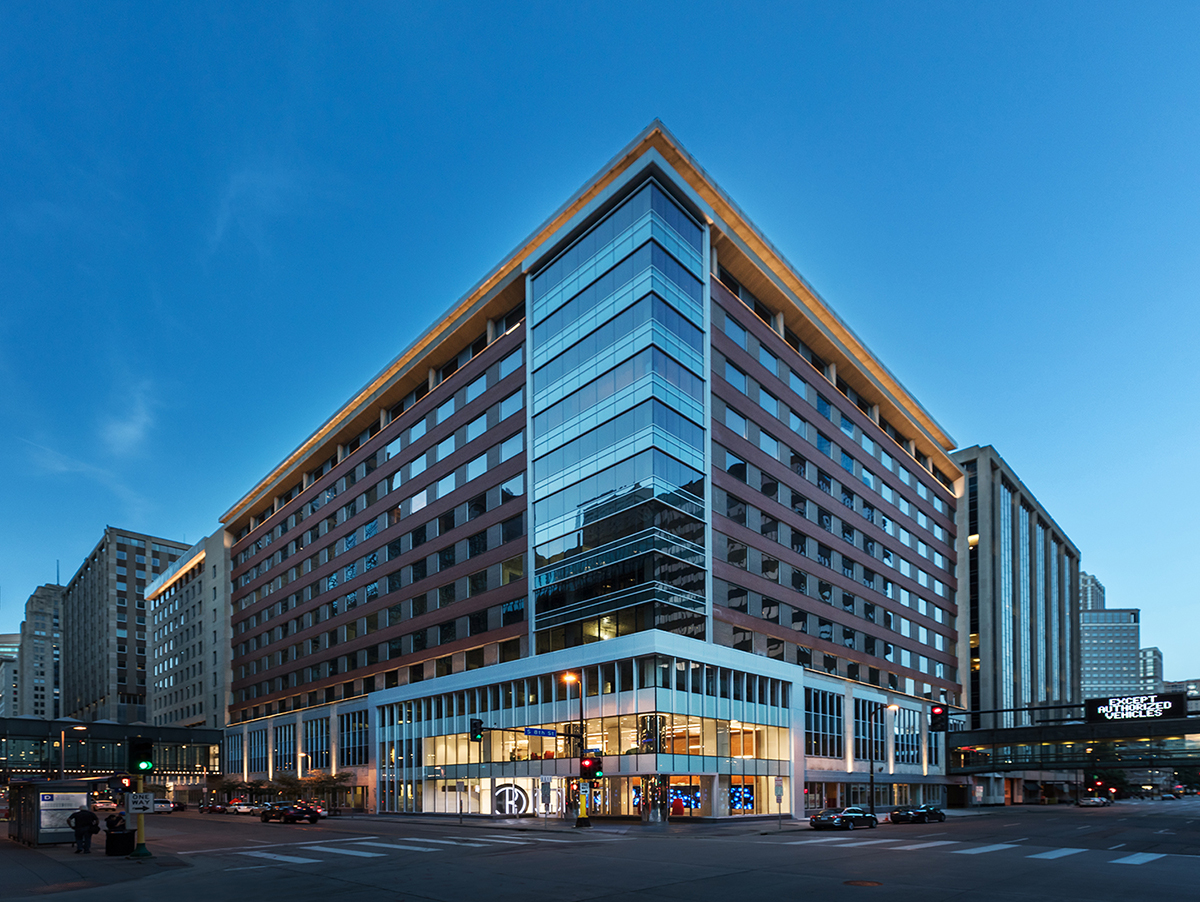Project - Baker Center - Minneapolis, MN - Curtainwall, Storefront