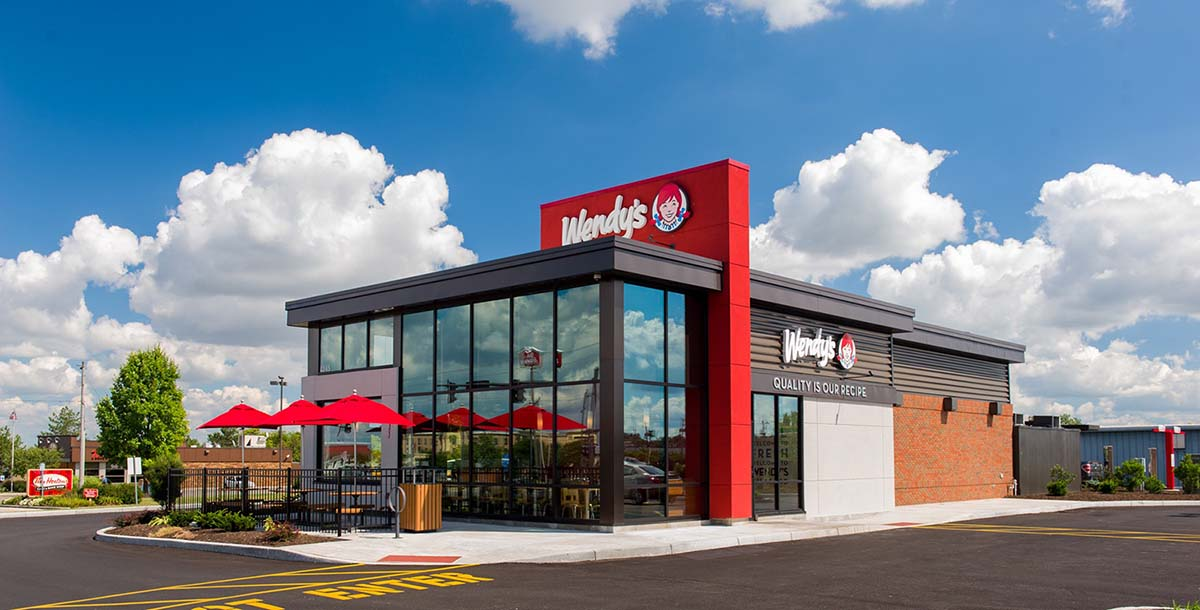 Project - Wendy's - Cemetery Road, Hilliard, OH - Storefront, Curtainwall, Doors - 2015