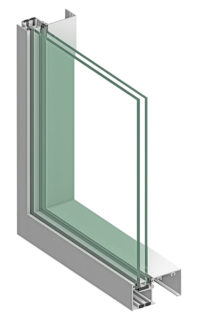 900RW Series Thermal Ribbon Window Cutaway