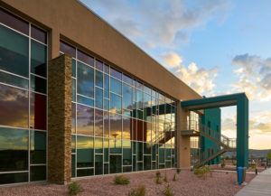 Project - Navajo Tribal Utility Authority (NTUA) Headquarter - Fort Defiance, NM - Curtainwall, Storefront, Entrances - 2019