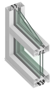 TU24000 Thermal Storefront Thermal=Block Framing